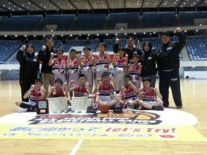 沢池ミニバスケットボールクラブ 優勝メンバー