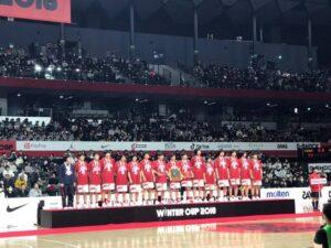 ウインターカップ2018_大阪薫英(準優勝)